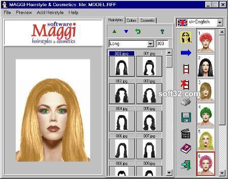 Maggi hairstyle & makeup software 6.0(Рус.)